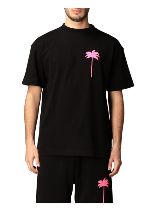 T-SHIRT CON STAMPA PALM ANGELS | 8 | PMAA001S21JER0081032