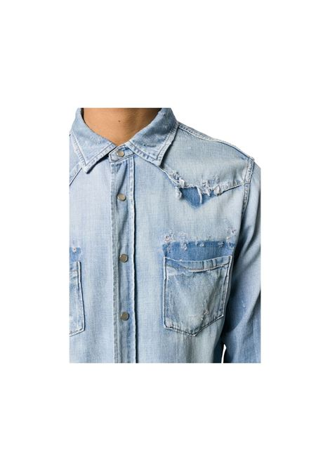 CAMICIA DENIM SAINT LAURENT | 6 | 601702Y880GDENIM