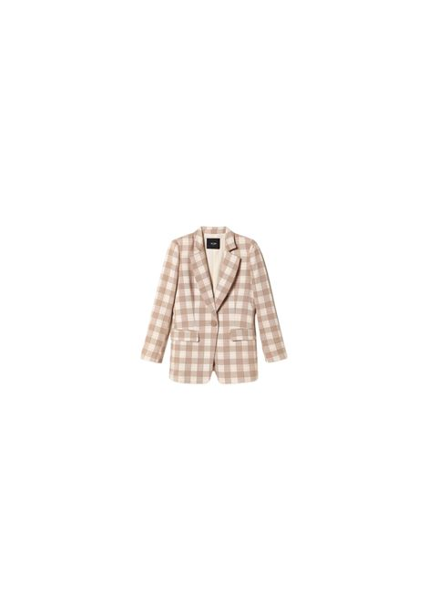 GIACCA BLAZER IN TESSUTO CHECK TWIN-SET | 3 | 202MP228C05382