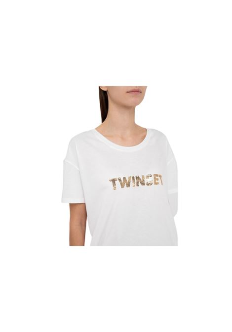 T-SHIRT CON STAMPA TWIN-SET | 8 | 211LM28GG00018