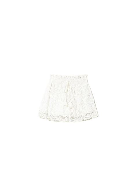 SHORTS IN PIZZO MACRAME TWIN-SET | 30 | 211LM2KPP00018