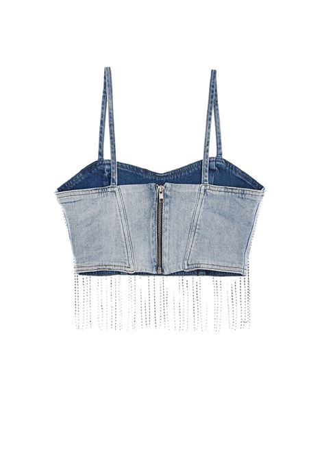TOP CROPPED CON STRASS TWIN-SET   40   211TT238300078