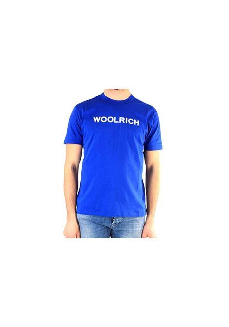 T-SHIRT IN COTONE Woolrich | 8 | WOTE0024MRUT1486397