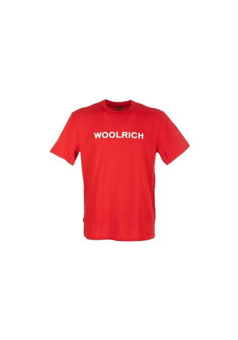 T-SHIRT IN COTONE Woolrich | 8 | WOTE0024MRUT14865405