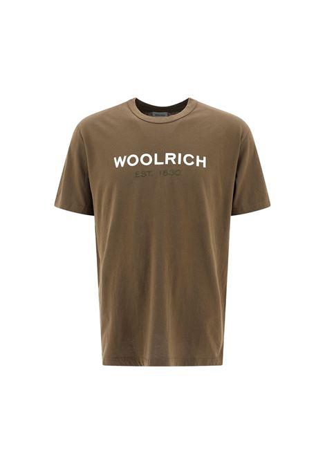 T-SHIRT IN COTONE Woolrich | 8 | WOTE0024MRUT1486614
