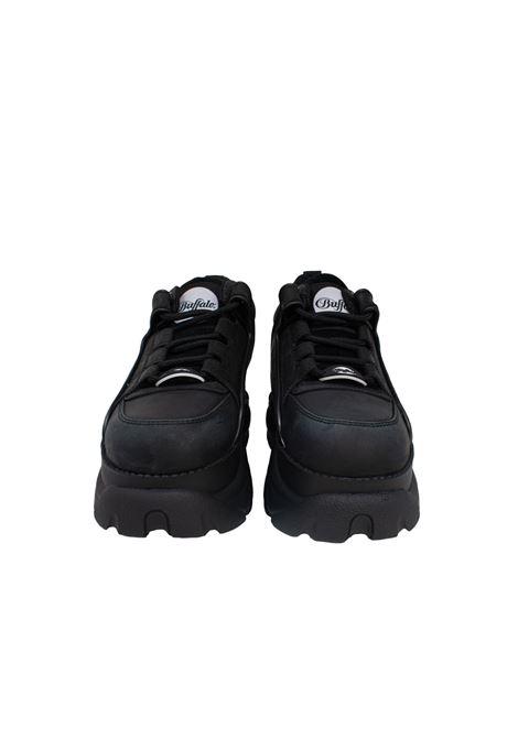 BLACK COW LEATHER BUFFALO LONDON | Sneakers | BFLBLK