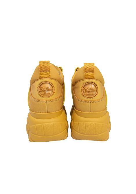 BEIGE NUBUCK LEATHER BUFFALO LONDON | Sneakers | BFLB