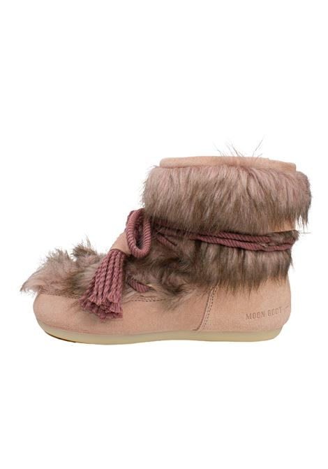 SIDE LOW BRINATO PINK MOON BOOT | Boots | 24300800