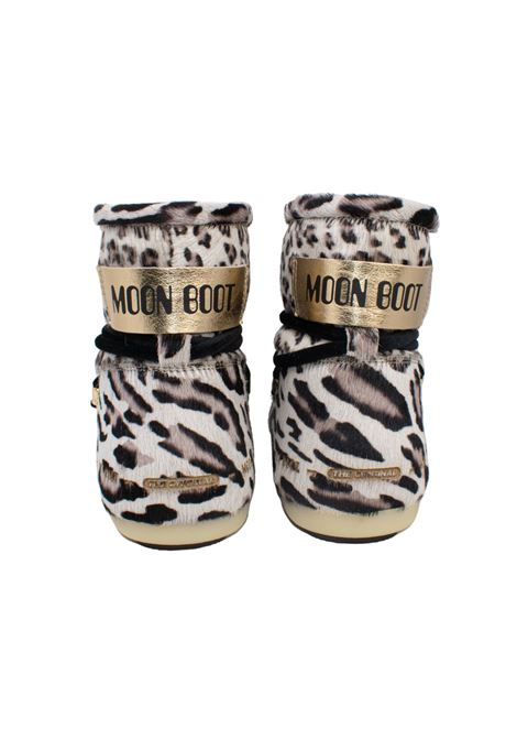 SIDE LOW ANIMAL MOON BOOT | Boots | SIDELOWANIMALGIRAFFEPRINT