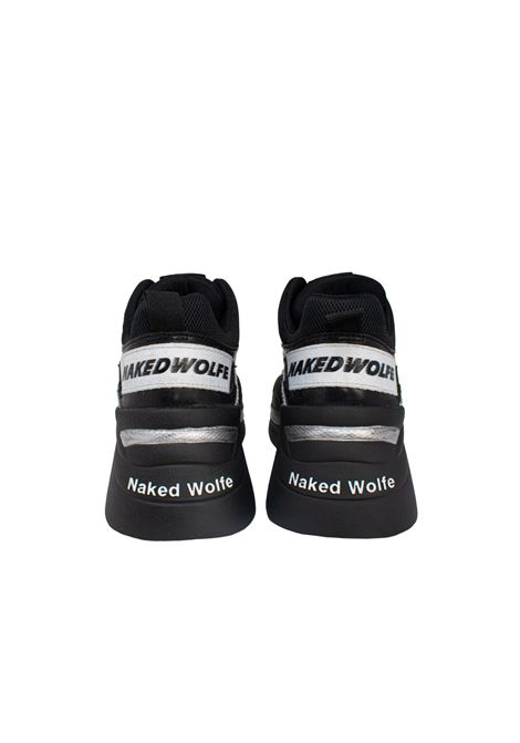 TRACK SILVER CROCO NAKED WOLFE | Sneakers | NWTSC