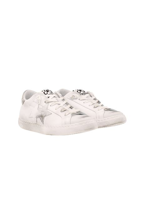 SNEAKERS LOW WHITE 2STAR | Sneakers | 2SD3200082