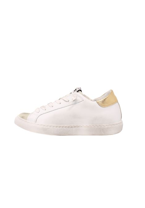 SNEAKERS LOW GOLD GLITTER 2STAR | Sneakers | 2SD3224074