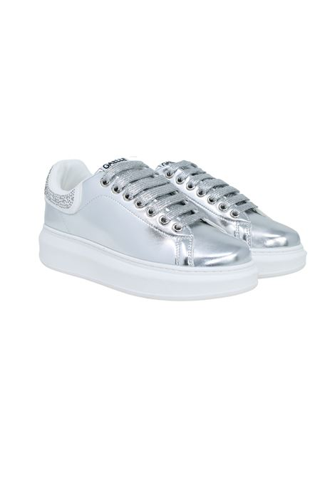 SNEAKERS ARGENTO GAELLE | Sneakers | GBDS2291ARGENTO