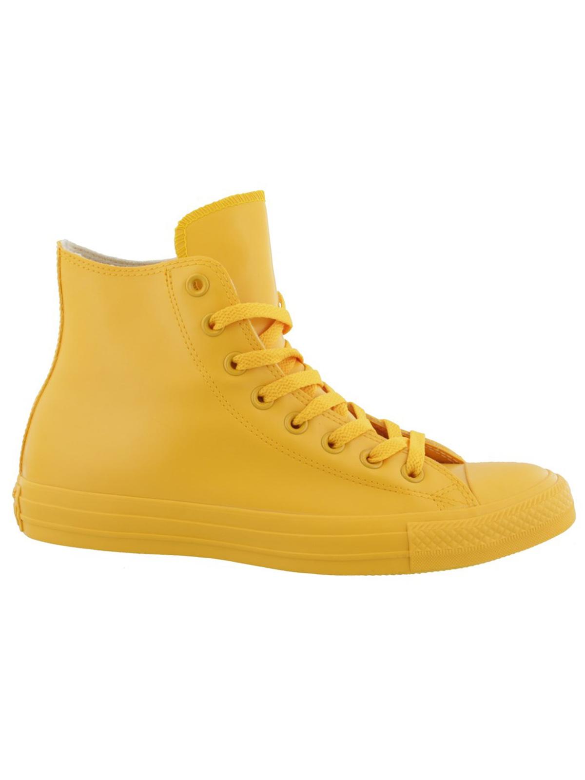 CONVERSE All Star Hi Rubber giallo