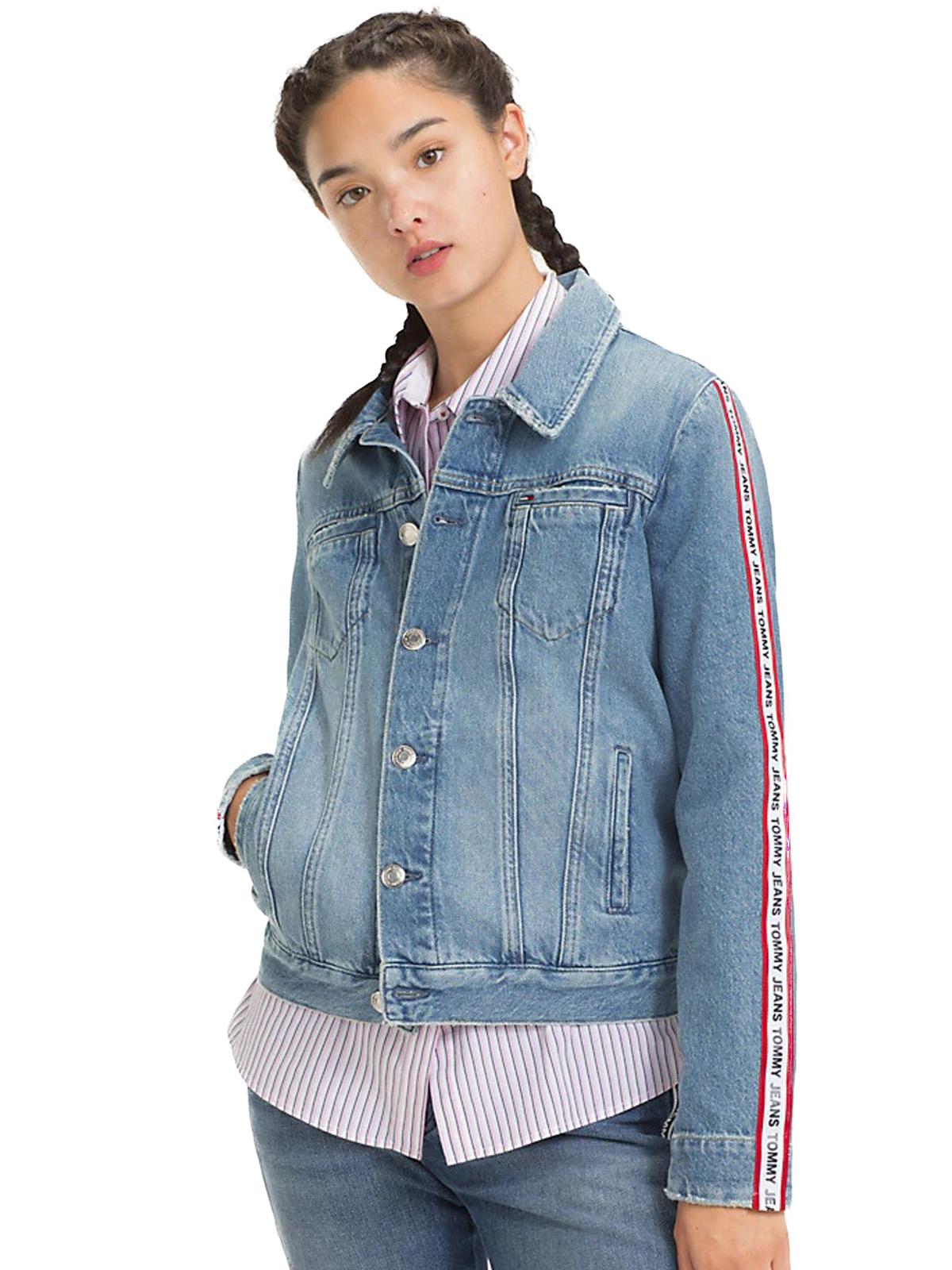 best loved e89e0 70f9d TOMMY HILFIGER Giacca di Jeans