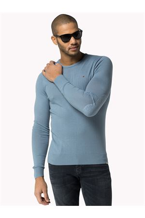 Knitted cotton round neck TOMMY | 7457050 | 1957878421416