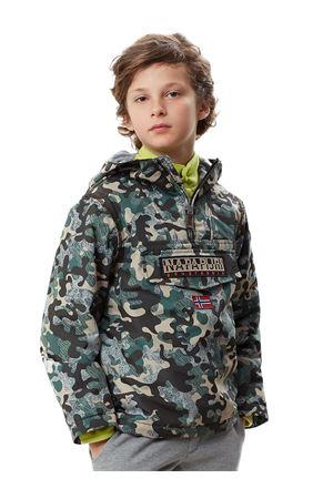 NAPAPIJRI Rainforest Camu jacket NAPAPIJRI | 13 | N0YIWAFE3