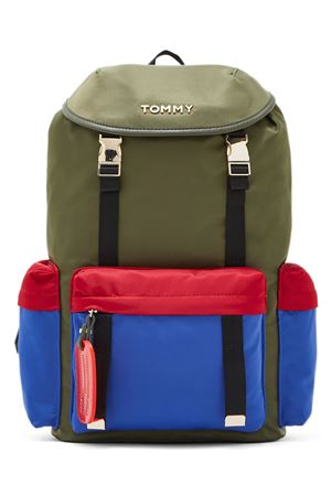 TOMMY HILFIGER Backpack On The Move TOMMY   -213431382   AW0AW073550GG