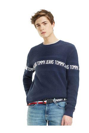 TOMMY HILFIGER Pullover mit Logo TOMMY   7   DM0DM06536002