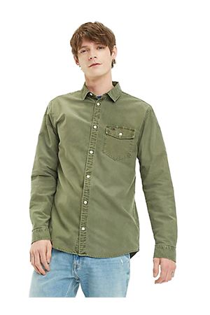 TOMMY JEANS Washed oxford shirt TOMMY   6   DM0DM06561307