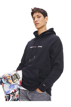TOMMY JEANS Relaxed Fit Sweatshirt TOMMY | -108764232 | DM0DM07030BBU