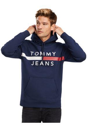 TOMMY JEANS Felpa Reflective TOMMY | -108764232 | DM0DM07410CBK