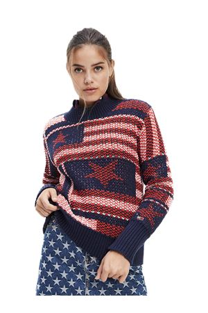 TOMMY JEANS American Pullover TOMMY | 7 | DW0DW07225CBK