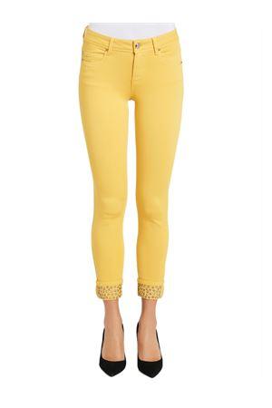 GAUDI JEANS Trousers with rhinestones GAUDI JEANS | 9 | 021BD250032784
