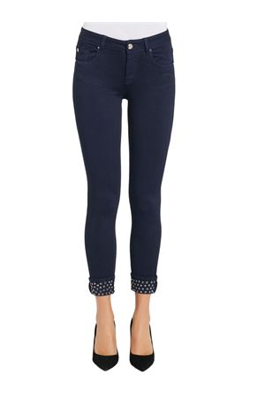 GAUDI JEANS Trousers with rhinestones GAUDI JEANS | 9 | 021BD250032891