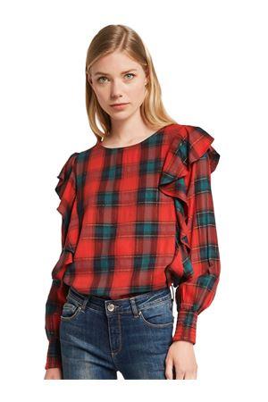 GAUDI JEANS CHECK blouse GAUDI JEANS | 6 | 021BD45016025067