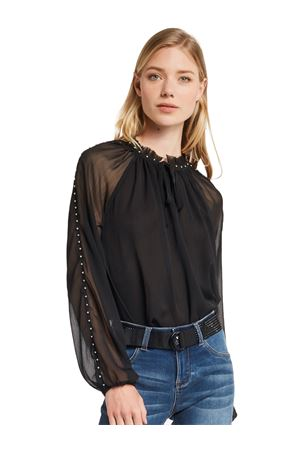 GAUDI JEANS Blouse with pearls GAUDI JEANS | 6 | 021BD450172001