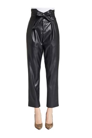 GAUDI JEANS Leather effect trousers GAUDI JEANS | 50000017 | 021FD280012001
