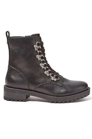 GUESS HINLEE boot GUESS | -771465572 | FL7HIEELE10BLACK
