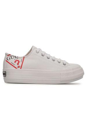 GUESS Sneaker Nikola GUESS | 12 | FL7NIKFAB12WHITE