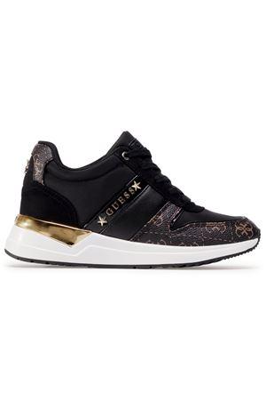 GUESS Sneaker RAVYN 4G LOGO GUESS | 12 | FL7RA2FAL12BLACK