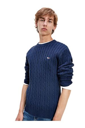 TOMMY JEANS Essential pullover TOMMY | 7457050 | DM0DM08807C87