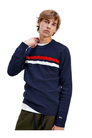 TOMMY JEANS Pullover ColorBlock TOMMY | 7457050 | DM0DM09465C87