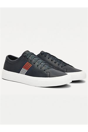 TOMMY JEANS CORPORATE LEATHER sneakers TOMMY | 12 | FM0FM02853DW5