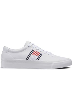 TOMMY JEANS sneakers CORPORATE LEATHER TOMMY | 12 | FM0FM02853YBR
