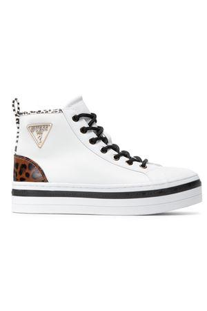 GUESS Sneaker alta Basking GUESS | 12 | FL7BSGWHITE
