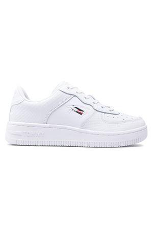 TOMMY HILFIGER Leather Sneakers TOMMY   12   EN0EN01427YBR