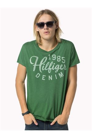 T-SHIRT LONG ISLAND Green Man TOMMY | 8 | 1957869736998