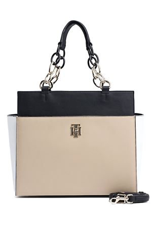 TOMMY HILFIGER TH Saffiano Satchel TOMMY | 31 | AW0AW06809901