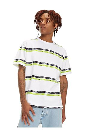 TOMMY JEANS T-shirt Signature Stripe TOMMY | 8 | DM0DM06087300
