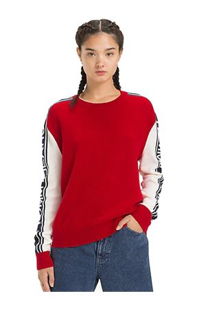 TOMMY JEANS Maglioncino Color Block TOMMY | 7 | DW0DW05152602