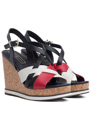 TOMMY HILFIGER Wedge Iconic Elena TOMMY | -383055939 | FW0FW04105020