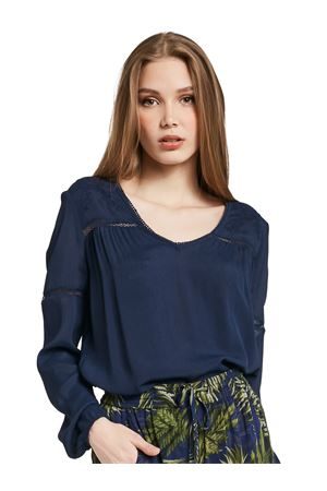 GAUDì JEANS Blouse with embroidery GAUDI JEANS | 6 | 011BD450142818