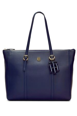 TOMMY HILFIGER Tote with Charm TOMMY | 31 | AW0AW07986CJM