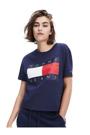 TOMMY HILFIGER T-shirt Crop  TOMMY   8   DW0DW07153C87