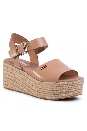 TOMMY HILFIGER Natural Flatform wedge TOMMY | -90164842 | EN0EN00913GQE